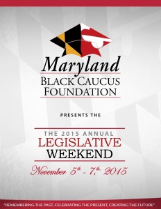 Maryland Black Caucus Foundation Workshops November 2015