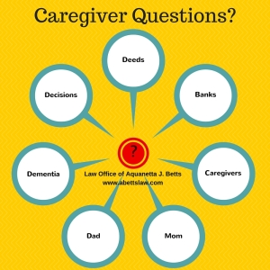 Caregivier questions