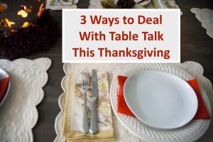 Table talk III
