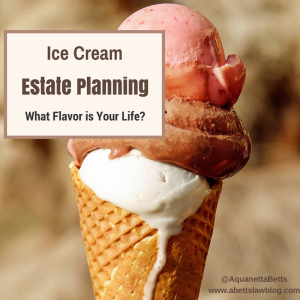 Ice Cream Estate Planning Picture 2017